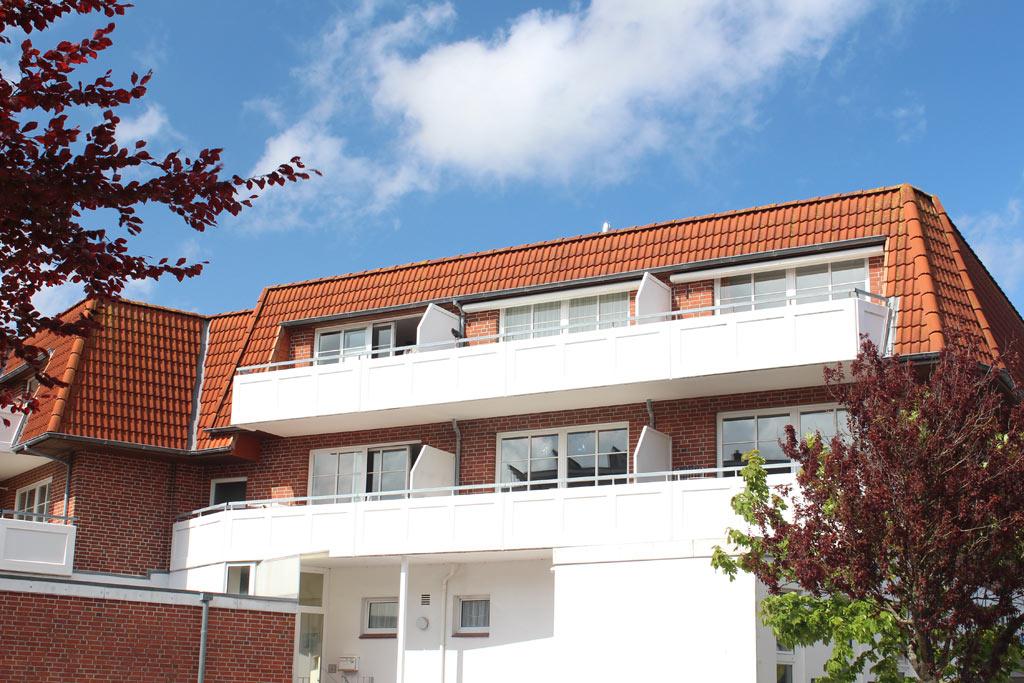 St. Peter-Ording Ferienwohnung  Julie Aussenfoto Appartementhaus